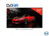 Sony 50 W800C Smart 3D TV (Black)