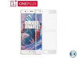 ONEPLUS 3 3T Premium Curved Tempered Glass White