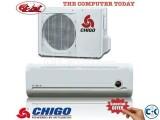 CHIGO AC 1 TON split air conditioner has 12000 BTU