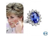 Princess Diana Adjustable Finger Ring.