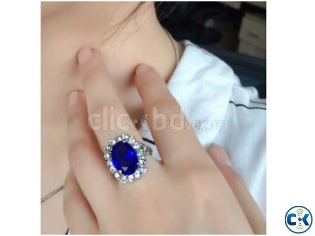 Princess Diana Adjustable Finger Ring. | ClickBD large image 1