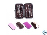 7 pcs in 1 set Manicure Set Stainless Steel Pedicure Set Nai