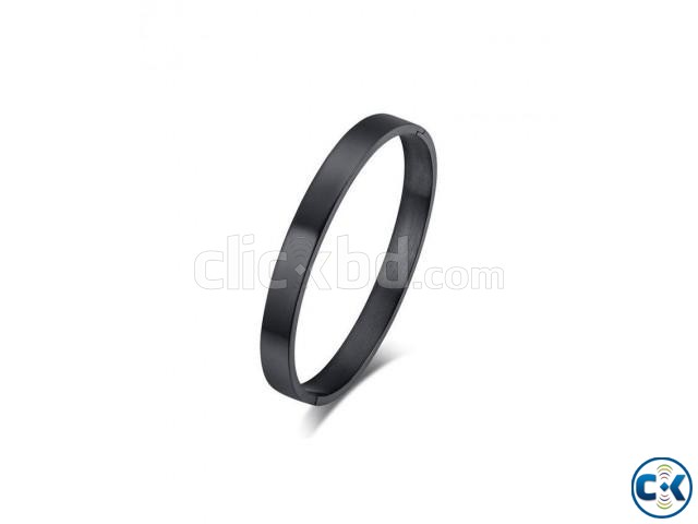 Stainless Steel Bracelet For Men - Black | ClickBD large image 0