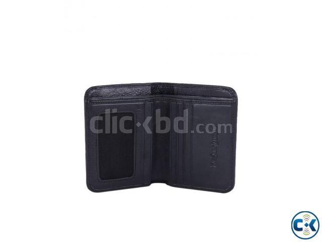 YSL Leather Wallet For Men - Black | ClickBD large image 1
