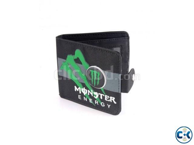 Monster Energy Wallet For Men | ClickBD large image 0