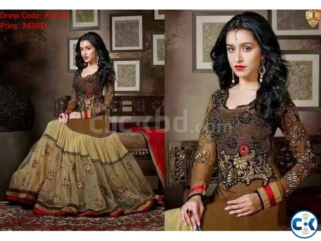 Indian Long Party Dress | ClickBD large image 0
