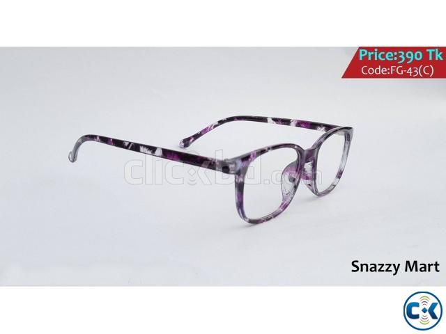 New Unique Trendy Optical Frame Ladies Gents  | ClickBD large image 2