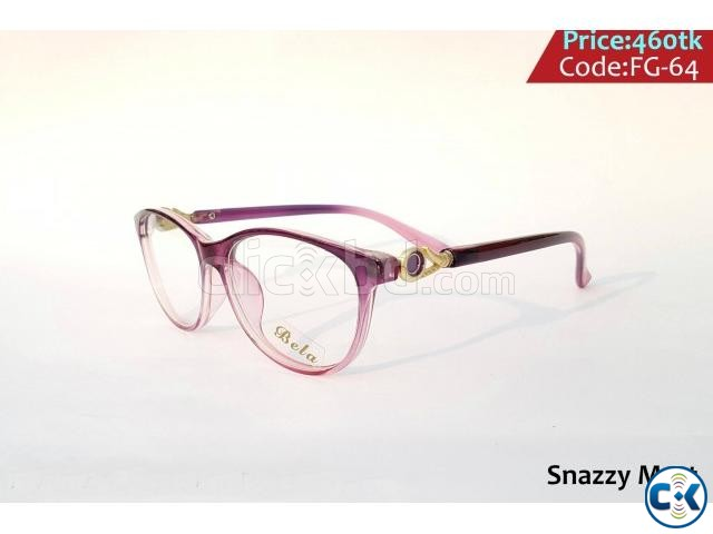 New Unique Trendy Optical Frame Ladies Gents  | ClickBD large image 3