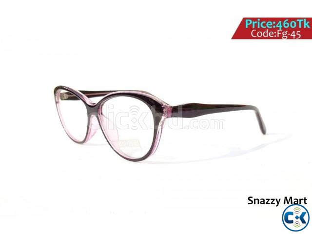 New Unique Trendy Optical Frame For Ladies  | ClickBD large image 0