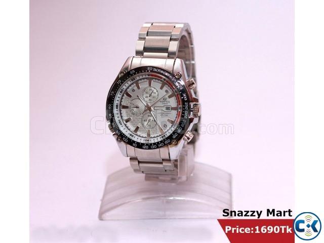New Unique Trendy Wrist Watch Gents  | ClickBD large image 0