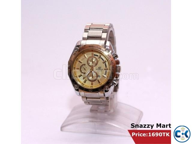 New Unique Trendy Wrist Watch Gents  | ClickBD large image 1