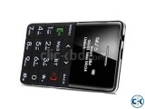 Q5 Credit card Size Mini Phone curve Display Black
