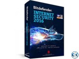 BITDEFENDER internet security 3 pc 3 user