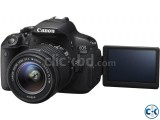 Canon 700d with 50mm Prime Lanse