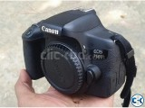 Canon Eos 750D Only Body with 6 month warranty boxed.