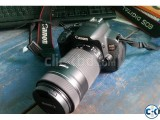 Canon EOS 700d with EFS 55-250mm IS STM Zoom lens New.