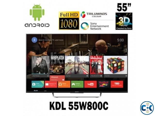 Sony 3D TV W800C 55 inch Smart Android FHD LED TV | ClickBD large image 1