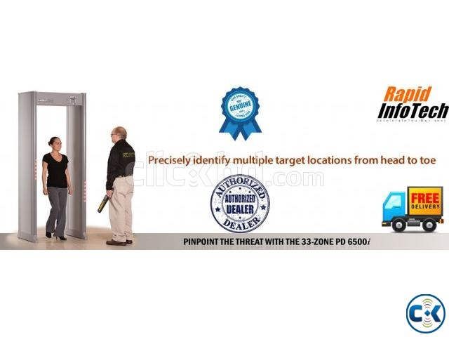 PD 6500i Archway Gate Metal Detector | ClickBD large image 0