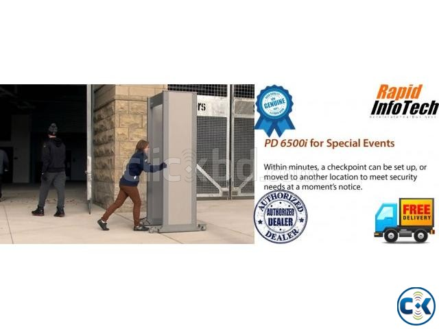 PD 6500i Archway Gate Metal Detector | ClickBD large image 1