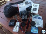 Canon 70D DSLR Camera with Lens