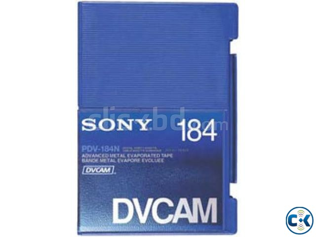 Sony DVCAM 184 | ClickBD large image 1