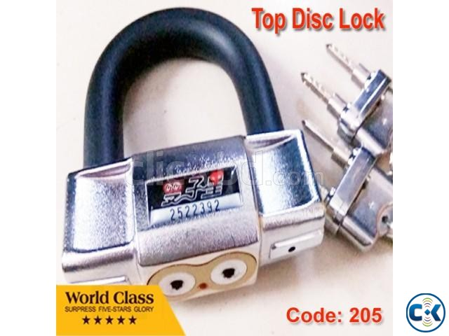 Bike Top Disc Lock | ClickBD large image 0