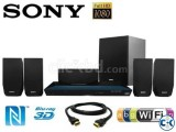 Sony BDV-E3100 5.1ch 3D Blu-ray home cinema system.