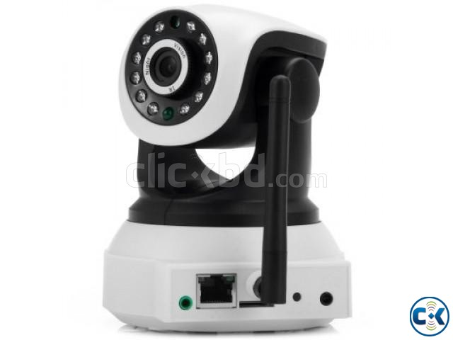 YOMER CloudSee IP security camera has wi-fi wire | ClickBD large image 1