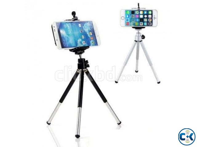 Tripod Stand For Mobile Camera 1pc | ClickBD large image 0