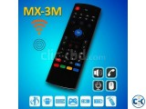 MX3-M Air mouse with MIC controllers