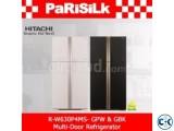 Hitachi R-W630P4MS 509L Inverter Fridge