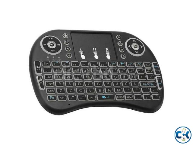 2.4G Mini Wireless Keyboard Mouse Rii Mini i8 Backlight Remo | ClickBD large image 1