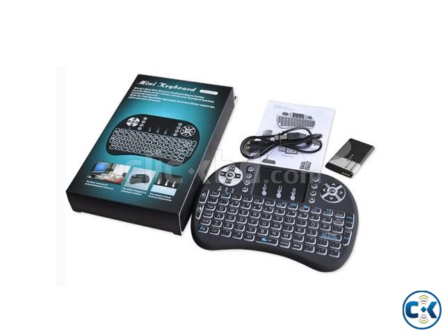 2.4G Mini Wireless Keyboard Mouse Rii Mini i8 Backlight Remo | ClickBD large image 4