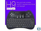 H9 Mini Wireless Keyboard with Backlight