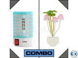 Combo of Anti-Mosquito Lamp Avatar Romantic Lamp