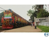 Dhaka to khulna AC ticket 4th may