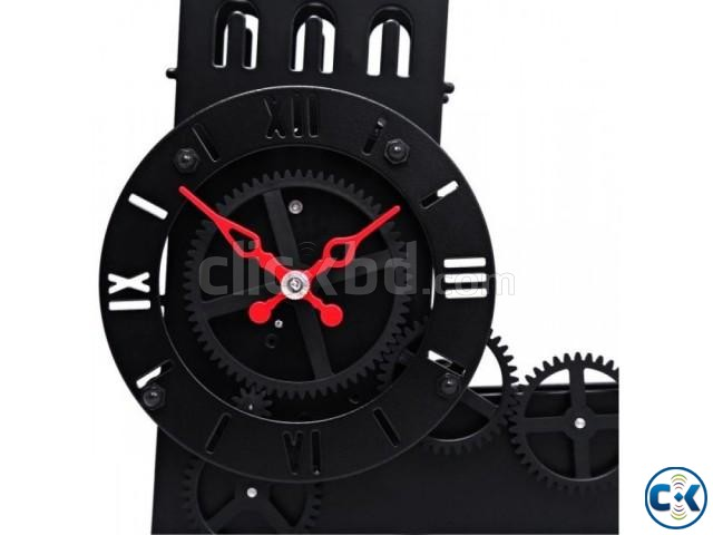 Gear Clock Leaning Tower of Pisa - HY-G117 intact | ClickBD large image 0
