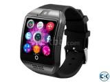 Original Q18s Sim supported Smart Watch Sim + Gear intact Bo