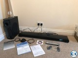 Yamaha YSP CU4300 Sound Bar Wireless subwoofer.
