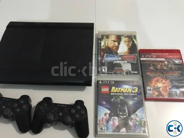 ps3 500gb | ClickBD large image 1