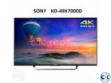 Sony Bravia x7000D 4K Ultra HD 55 Inch WiFi Android TV