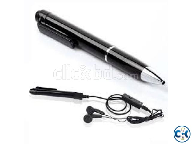 Spy Pen Voice Recorder With Mp3 | ClickBD large image 0