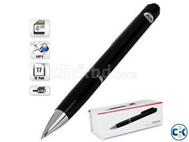 Spy Pen Voice Recorder With Mp3 | ClickBD large image 1