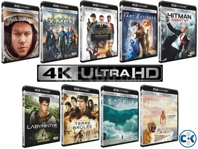 4K MOVIES 100 UHD FOR LCD LED TV 4K TV | ClickBD large image 1