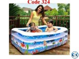 Original INFLATABLE BABY SWIMMING POOL with e-pumper