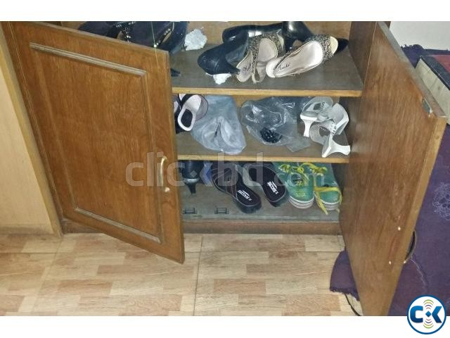 Wooden shoe shelf | ClickBD large image 1