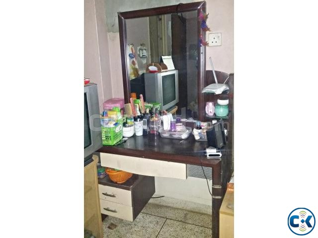 OTOBI dressing table urgent sell  | ClickBD large image 0