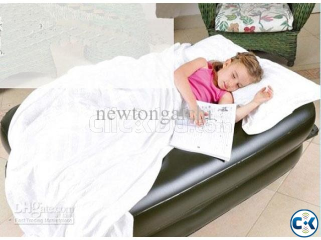 5 in 1 Inflatable Double Air Bed Sofa cum Chair intact Box | ClickBD large image 3