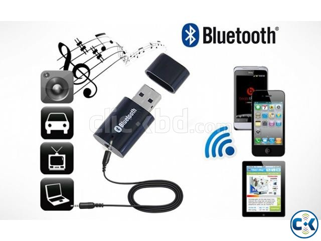USB Bluetooth Music Receiver | ClickBD large image 2