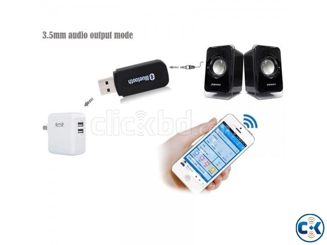 Bluetooth Receiver for any Speaker | ClickBD large image 0